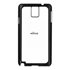 Moxie Logo Samsung Galaxy Note 3 N9005 Case (Black)