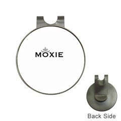 Show Us Your Moxie Hat Clip with Golf Ball Marker