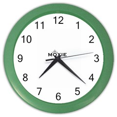 Show Us Your Moxie Wall Clock (color)