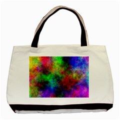 Plasma 21 Twin Sided Black Tote Bag
