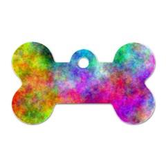 Plasma 22 Dog Tag Bone (one Sided)