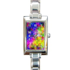 Plasma 23 Rectangular Italian Charm Watch