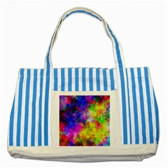 Plasma 23 Blue Striped Tote Bag
