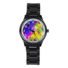 Plasma 23 Sport Metal Watch (Black)