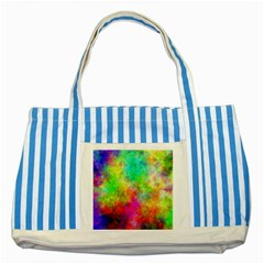 Plasma 24 Blue Striped Tote Bag