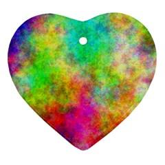 Plasma 24 Heart Ornament (two Sides)