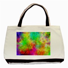Plasma 24 Twin Sided Black Tote Bag