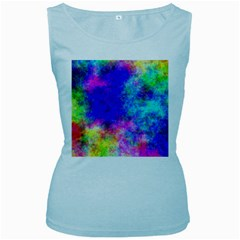 Plasma 25 Women s Tank Top (Baby Blue)