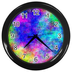 Plasma 25 Wall Clock (black)