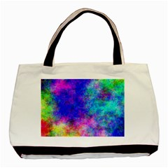 Plasma 25 Twin-sided Black Tote Bag