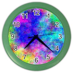 Plasma 25 Wall Clock (Color)