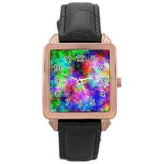 Plasma 26 Rose Gold Leather Watch