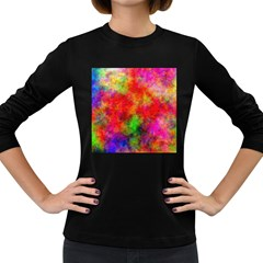 Plasma 30 Women s Long Sleeve T Shirt (dark Colored)