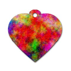 Plasma 30 Dog Tag Heart (Two Sided)
