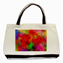 Plasma 30 Twin-sided Black Tote Bag