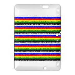 Horizontal Basic Colors Curly Stripes Kindle Fire HDX 8.9  Hardshell Case