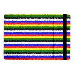 Horizontal Basic Colors Curly Stripes Samsung Galaxy Tab Pro 10.1  Flip Case