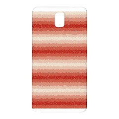 Horizontal Red Curly Stripes Samsung Galaxy Note 3 N9005 Hardshell Back Case