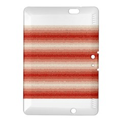 Horizontal Red Curly Stripes Kindle Fire HDX 8.9  Hardshell Case