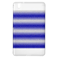 Horizontal Dark Blue Curly Stripes Samsung Galaxy Tab Pro 8.4 Hardshell Case