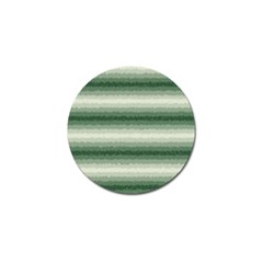 Horizontal Dark Green Curly Stripes Golf Ball Marker 10 Pack