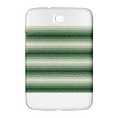 Horizontal Dark Green Curly Stripes Samsung Galaxy Note 8 0 N5100 Hardshell Case