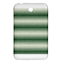 Horizontal Dark Green Curly Stripes Samsung Galaxy Tab 3 (7 ) P3200 Hardshell Case