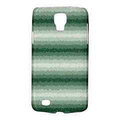 Horizontal Dark Green Curly Stripes Samsung Galaxy S4 Active (i9295) Hardshell Case