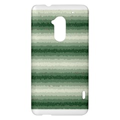 Horizontal Dark Green Curly Stripes HTC One Max (T6) Hardshell Case