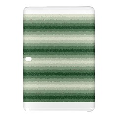 Horizontal Dark Green Curly Stripes Samsung Galaxy Tab Pro 12.2 Hardshell Case