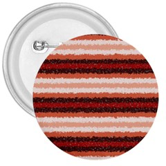 Horizontal Native American Curly Stripes   1 3  Button