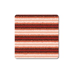 Horizontal Native American Curly Stripes   1 Magnet (square)