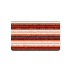 Horizontal Native American Curly Stripes - 1 Magnet (Name Card)