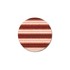 Horizontal Native American Curly Stripes   1 Golf Ball Marker 4 Pack