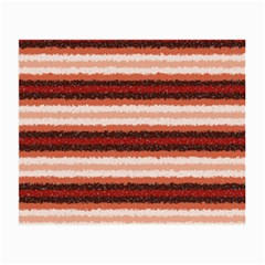 Horizontal Native American Curly Stripes   1 Glasses Cloth (small)