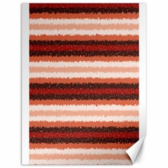 Horizontal Native American Curly Stripes - 1 Canvas 12  x 16  (Unframed)