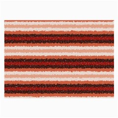 Horizontal Native American Curly Stripes   1 Glasses Cloth (large, Two Sided)