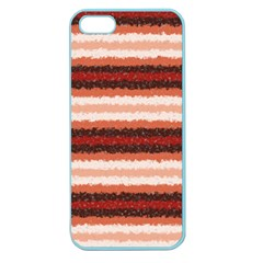 Horizontal Native American Curly Stripes   1 Apple Seamless Iphone 5 Case (color)
