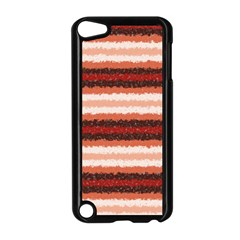 Horizontal Native American Curly Stripes - 1 Apple iPod Touch 5 Case (Black)
