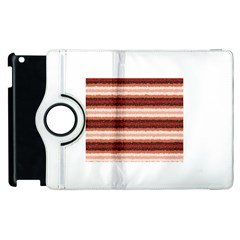 Horizontal Native American Curly Stripes - 1 Apple iPad 3/4 Flip 360 Case