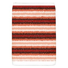 Horizontal Native American Curly Stripes   1 Removable Flap Cover (small)