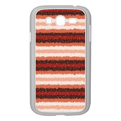 Horizontal Native American Curly Stripes   1 Samsung Galaxy Grand Duos I9082 Case (white)
