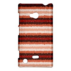 Horizontal Native American Curly Stripes   1 Nokia Lumia 720 Hardshell Case