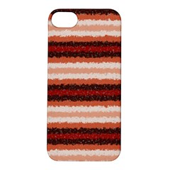 Horizontal Native American Curly Stripes - 1 Apple iPhone 5S Hardshell Case