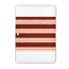 Horizontal Native American Curly Stripes - 1 Samsung Galaxy Tab 2 (10.1 ) P5100 Hardshell Case