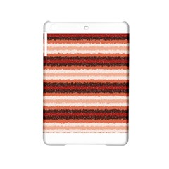 Horizontal Native American Curly Stripes - 1 Apple iPad Mini 2 Hardshell Case