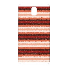 Horizontal Native American Curly Stripes - 1 Samsung Galaxy Note 3 N9005 Hardshell Back Case