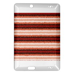 Horizontal Native American Curly Stripes   1 Kindle Fire Hd (2013) Hardshell Case