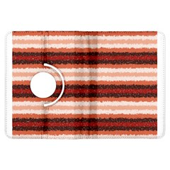 Horizontal Native American Curly Stripes   1 Kindle Fire Hdx Flip 360 Case