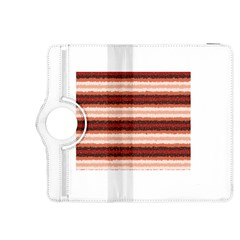 Horizontal Native American Curly Stripes - 1 Kindle Fire HDX 8.9  Flip 360 Case